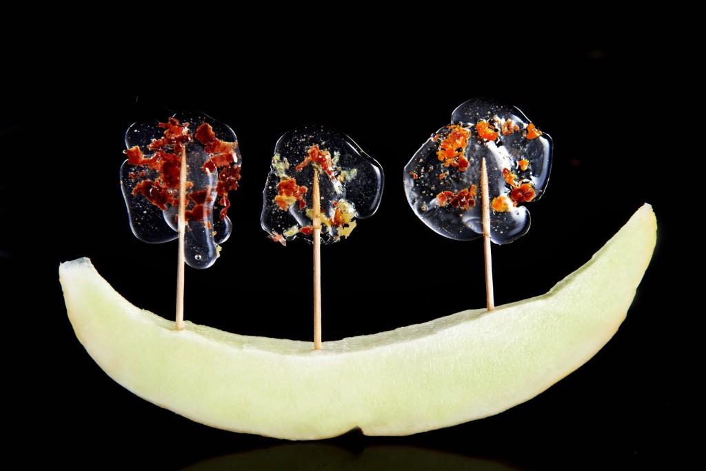 Lizaki molekularne: z boczku i śliwki, marchwi i imbiru, daktyli i pomarańczy